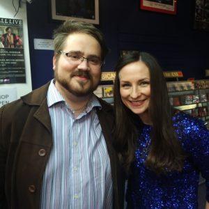 Matt meets Julie Fowlis, 7th November 2017 at The Stables nr. Milton Keynes